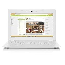 Lenovo Ideapad 100S 11.6-Inch HD Laptop (White) - (Intel Atom Z3735, 2 GB RAM, 32 GB HDD, Intel HD Graphics, Windows 10)