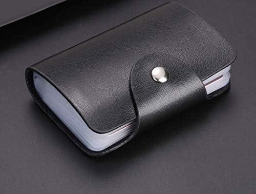 High-Kapazitäts-Karte Paket männliche Bank Kreditkarte Multi-Card-Bit Schwarze Karte Tasche Visitenkarte Clip 7cm x 10,5 cm x 1,5 cm