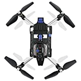 Foldable JJRC H40WH 2.4G 4CH 6 Axis Wifi Hover RC Quadcopter Drone Tank with 720P Camera Remote Control Headless Mode Altitude Hold Good Choice for Drone Training by DM