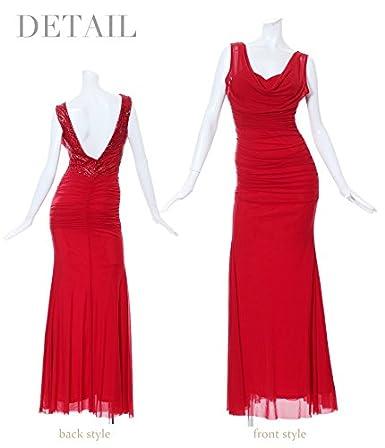 034b4c9584300 Amazon.co.jp: (リューユ)Ryuyu キャバドレス キャバ ドレス キャバクラ ロングドレス パーティードレス Ryuyu  ドレープメッシュタイトロングドレス ドレープ ...