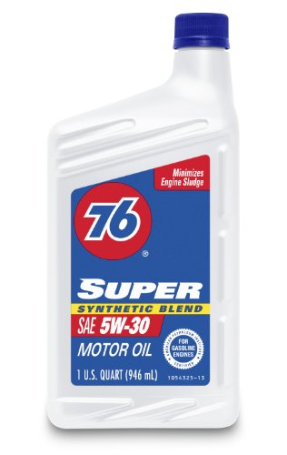 76 super synthetic blend oil - 1
