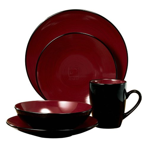 CCA International 16pc duo Dinnerware set