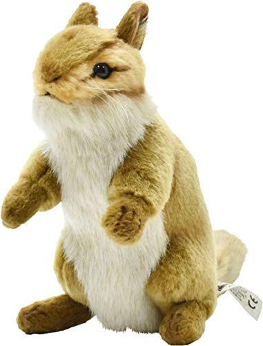 Hansa Upright Chipmunk Plush Animal Toy, 6