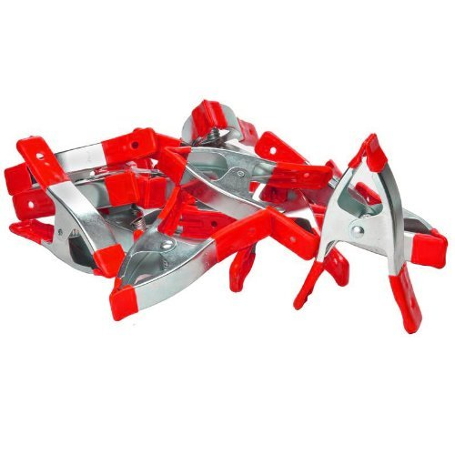 6'' Medium Heavy Duty Spring Clamps (15 Pack)
