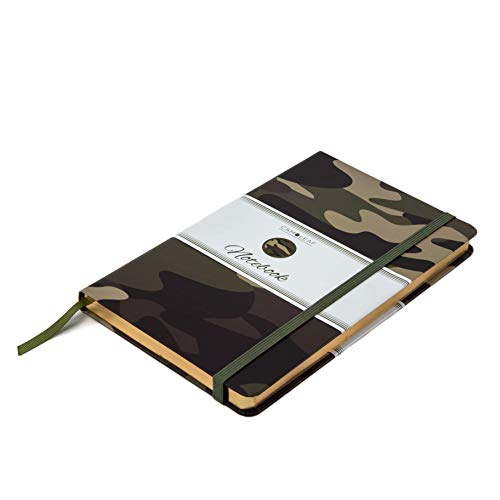 Journal | Notebook Classic Hardcover - Premium Printed Camouflage Cover Design - A5, 8.25