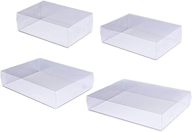 WTY Cajas De Pastel Transparente Portador De La Torta Caja De Panadería para Pasteles, Galletas, Cupcakes, Rosquillas Y Más: Amazon.es: Hogar