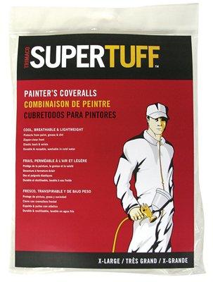 Tufpro 09901 Medium SuperTuff Polypropylene Coveralls
