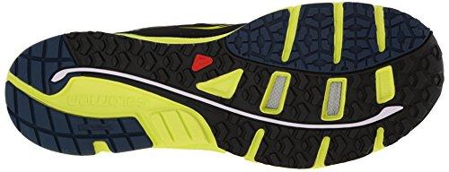 Green Gecko Mantra Black Slateblue para Trail Zapatillas multicolor Somon para hombre correr 3 Salomon de qpHfOZ6