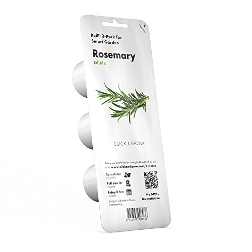 Click and Grow Smart Garden Rosemary Plant Pods, 3-Pack by Click and Grow