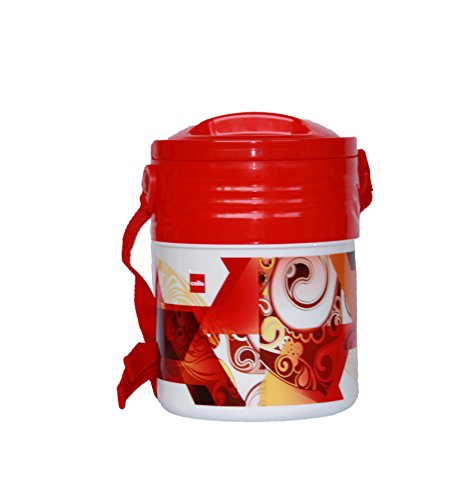 Cello Insulated Lunch Carrier Meal Kit  3 Red