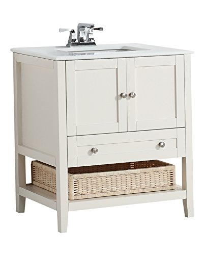 Simpli Home 4Axcvccw 30 Vanity White Review