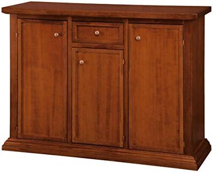 Legno&Design Aparador Buffet cajonera 3 Puertas 1 cajón ...