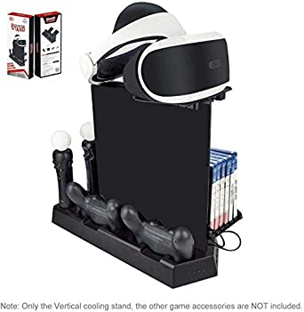 Soporte Vertical de Carga PSVR, Stand Vertical PS4 Pro / PS4 ...