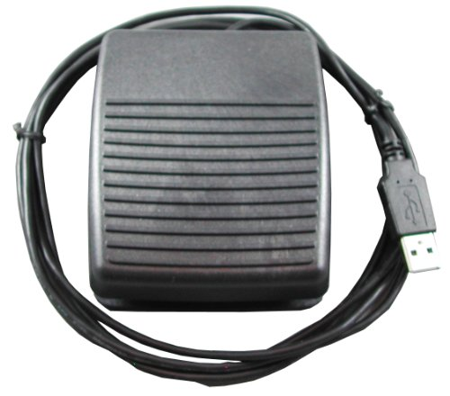 - USB HID Programmable Foot Switch w/2M Cable