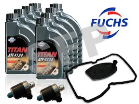 Transmission Blue Top Solenoids, Gasket & ATF Fluid Kit for use with Dodge Chrysler NAG1 722.6 Trans