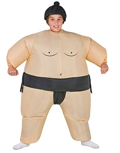 GOTOBUYWORLD Inflatable Sumo Fancy Dress Party Halloween Costume Parent-Child Attire (child) ()