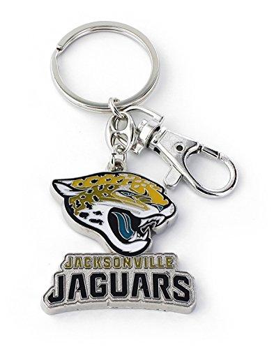 aminco NFL Jacksonville Jaguars Heavyweight Keychain