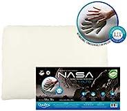 Travesseiro Nasa-X Alto Duoflex Bege Para fronha 50cmx70cm Espuma 100% poliuretano
