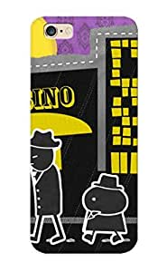 Ideal Mooseynmv Case Cover For Iphone 6 Plus(walking In Front Of The Casino), Protective Stylish Case