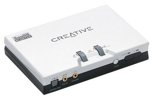 70SB049000000 - Creative Technology - Creative Sound Blaster Live 24-bit External - Sound card - external - USB