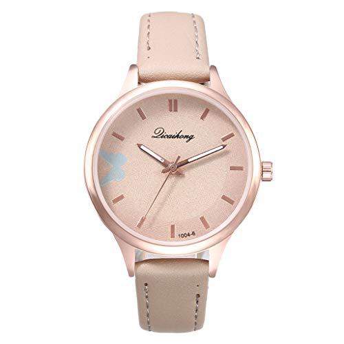 Geneve New Simple Butterfly Pattern Quartz Watch Modern Style Cute Watch by ()