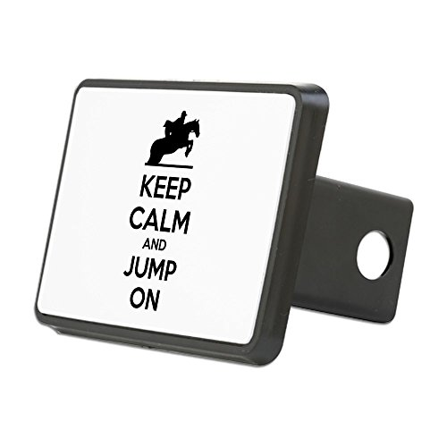 m and Show Jump - Trailer Hitch Cover, Truck Receiver Hitch Plug Insert ()