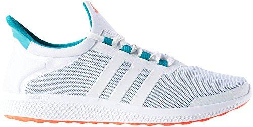 adidas Performance Men's CC Sonic M Running Shoe, White/White/Equipment Green, 10 M US