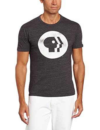 Tailgate Men's PBS Logo Tee, Dark Storm, Medium