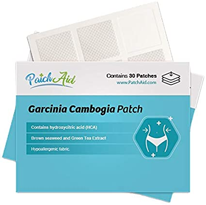 Amazon Com Garcinia Cambogia Topical Patch By Patchaid 1 Month Supply Health Personal Care