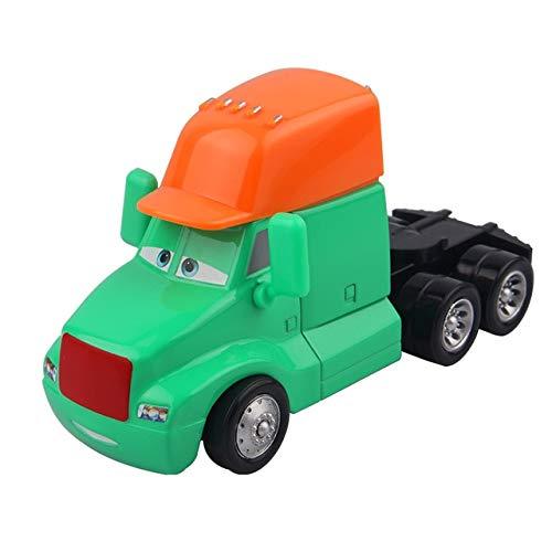FairOnly Pixar Cars 2 Rayo Mcqueen Azul Headstock Diecast ...