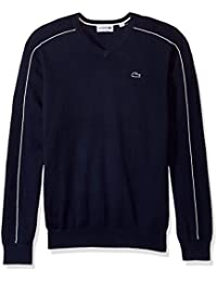 Men's Jersey and Pique Sweater with White Outlined Croc