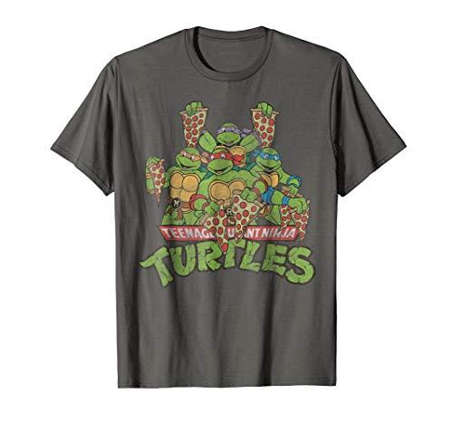 Teenage Mutant Ninja Turtles Multiple Smiles & Slices Tee ()