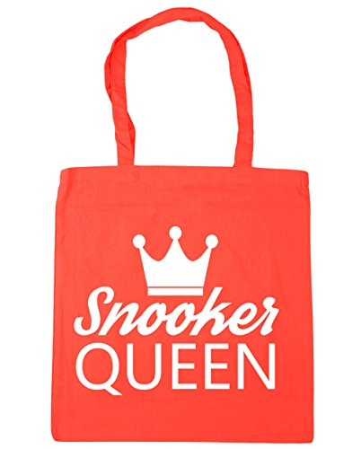 HippoWarehouse billar Reina bolsa de la compra bolsa de playa 42cm x38cm, 10litros Coral
