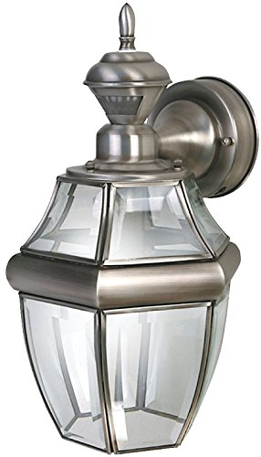 Carriage Large (Heath Zenith 0000 HZ-4166-SA SLV Hang Carriage Lantern)