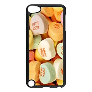Cute marshmallow Customized Durable Hard Plastic Case Cover LUQ872362For Ipod Touch 5