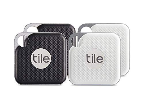 Tile Pro (2018) - 4 Pack (2 x Black, 2 x White)