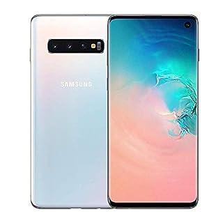 Samsung Galaxy S10 128GB / 8GB RAM SM-G973F Hybrid/Dual-SIM (GSM Only, No CDMA) Factory Unlocked 4G/LTE Smartphone - International Version (Prism White)