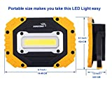 sunzone Portable LED Work Light, COB Flood
