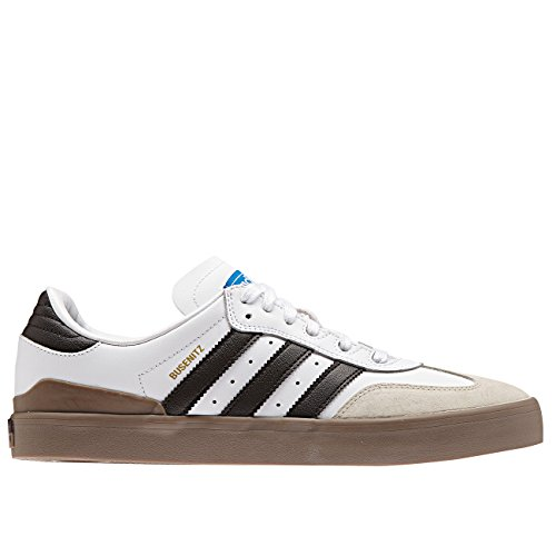 Adidas Originals Mens Originelen Busenitz Vulc Samba Editie Trainers Us9 Wit