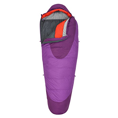 Kelty Women's Cosmic 20 Degree Sleeping Bag, Dahlia/Grape Juice (Best 20 Degree Down Sleeping Bag)