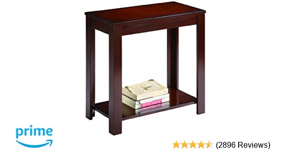 Cool Amazon Crown Mark Pierce Chair Side Table Espresso Kitchen & Dining Top Search - Fresh 6 Foot sofa Table Unique