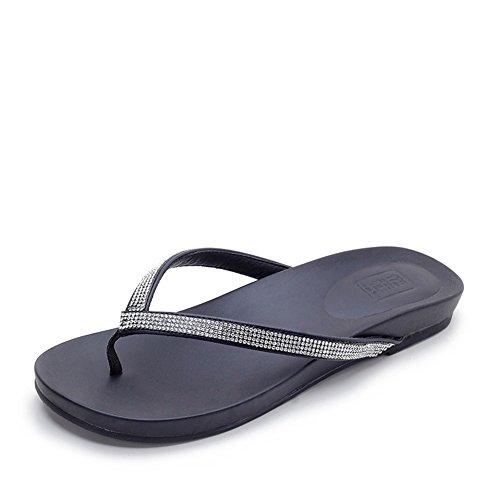 Super Grandes Zapatos De Tamaño/Sandalias De Verano/Agregar Fertilizante Fondo Plano Arrastre De Espiga A