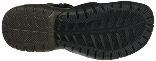 Crocs Mens Maglia Swiftwater Sandalo Espresso / Espresso