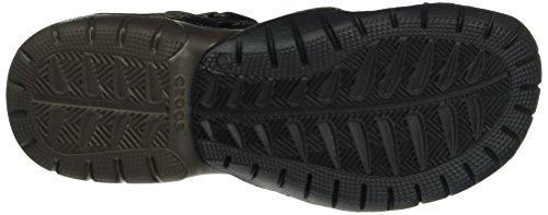 Crocs Mænds Swiftwater Mesh Sandal Espresso / Espresso VzVOD4Guzg