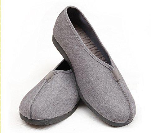 gris Gris Kung Fu Monje Unisex Zapatillas Marciales Artes Shaolin Zapatos zooboo De gTyqPww6