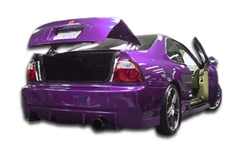 Duraflex Replacement for 1994-1995 Honda Accord 2dr / 4DR Buddy Rear Bumper Cover - 1 Piece