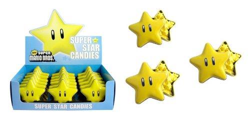Nintendo Super Star Candy Tin x 3 (3 Stars Tin Only)