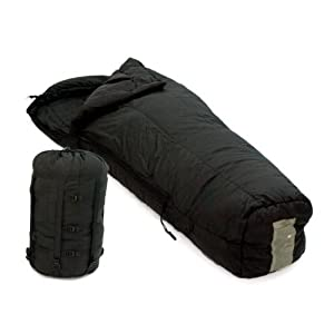 U.S. Military -10 Degree Cold Weather Sleeping Bag and Compression Stuff Sack