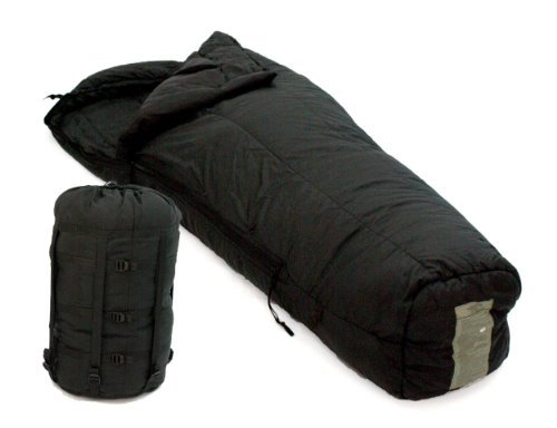 U.S. Military -10 Degree Cold Weather Sleeping Bag and Compression Stuff (10f Mummy)