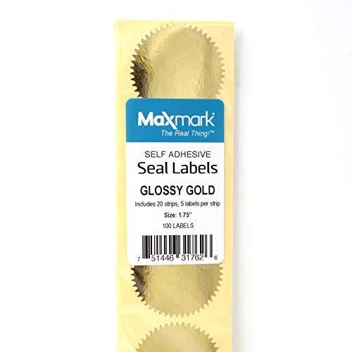gold seals for embossing - 6